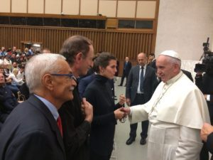 Clovis Cavalcanti and Stuart Scott at the Vatican, furthering ecological economics