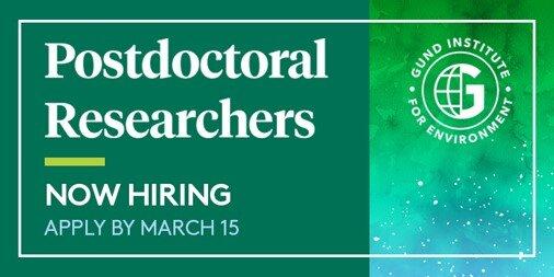 Gund Postdoctoral Researchers